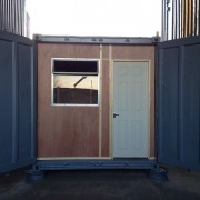 10ft x 8ft Refurbished Shipping Container Office for sale