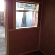 10ft x 8ft Refurbished Shipping Container Office for sale internal
