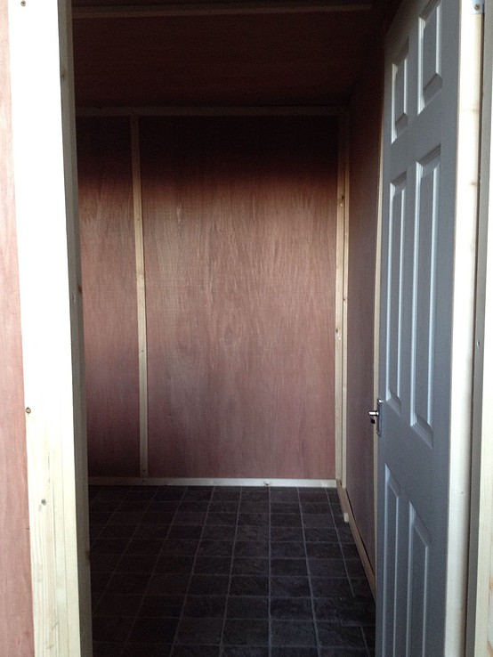 10ft x 8ft Refurbished Shipping Container Office for sale internal 2