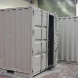 10ft x 8ft Used Shipping Container