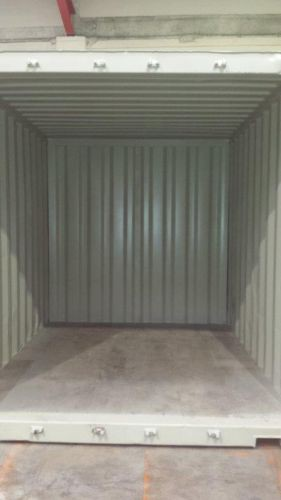 10ft x 8ft Used Shipping Container internal