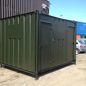 12ft x 8ft Refurbished Shipping Container Toilet Block for sale