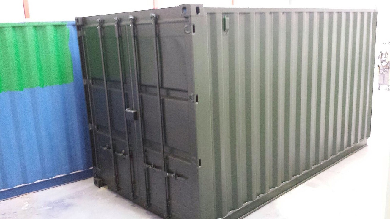 15ft X 8ft Green Used Shipping Container Www