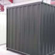 15ft x 8ft Used Shipping Container side