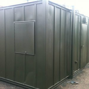 Refurbished Shipping Container Ofiice Unit for sale