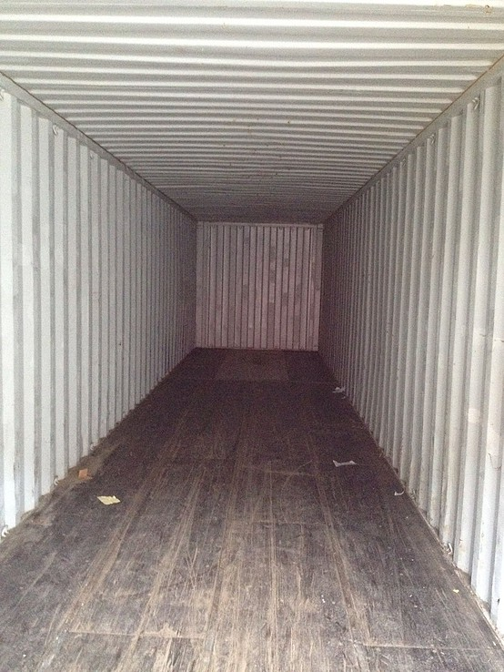 Used Shipping Container 40ft internal