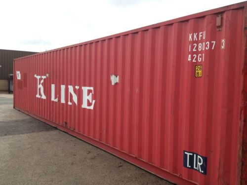Used Shipping Container 40ft side