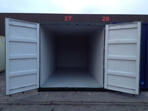 Used Shipping Container Open Doors