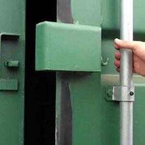 Storage Container Lock Box Green