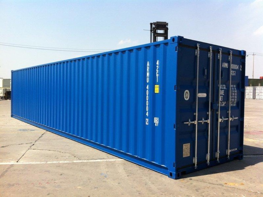 40ft x 8ft New Storage Container wwwglobalshippingcontainerscouk