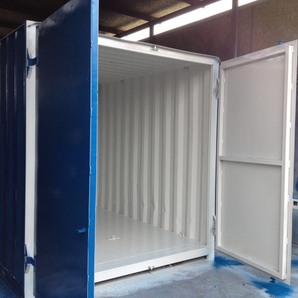 10FT PAINTED BLUE STORES1-1