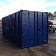 20ft Blue Ship Container