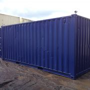 20ft Blue Ship Container1