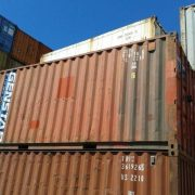20ft Red Ship Container