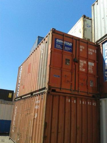 20ft Red Ship Container2