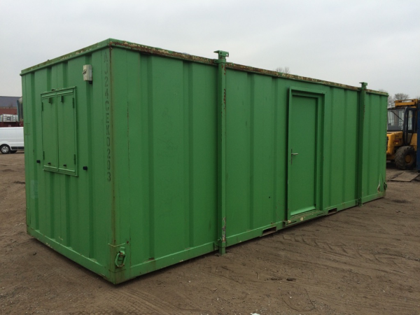 24ft x 9ft Used Portable Building