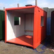 Red Smoking Shelter