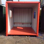 10ft x 8ft Smoking Shelter Non Slip Floor