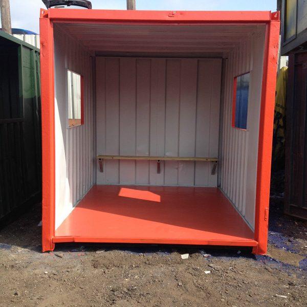 Red Smoking Shelter2