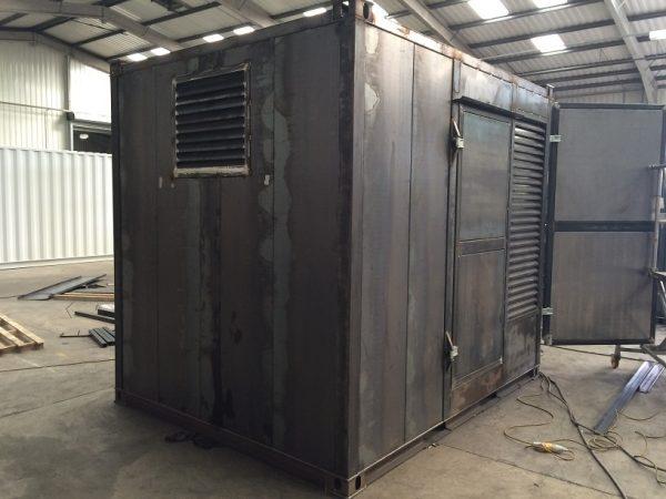 10ft x 8ft Generator Storage Unit